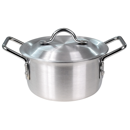 2 In 1 Bundle Offer 10 Pcs Aluminium Cookware+6 Pcs Spoon Set BND17-72