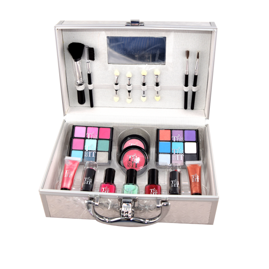 3 In 1 Bundle Offer Color Spirit Make Up Kit+Eyebrow Pencil+Mascara BND17-14