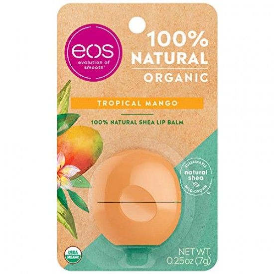 eos Natural & Organic Sphere Lip Balm - Tropical Mango